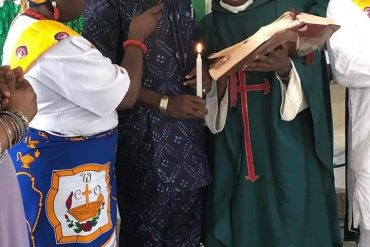 Actor Kanayo O. Kanayo, Two Ex-Muslim Sisters Baptised In Church