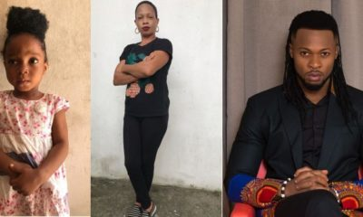 Juliet Oluchi Ehiemere, Flavour and the child