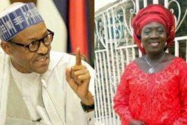 President Buhari and the deceased, Achejuh Abuah