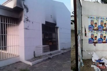 Ahead Of Election, Hoodlums Burn Down SDP Secretariat In Kogi