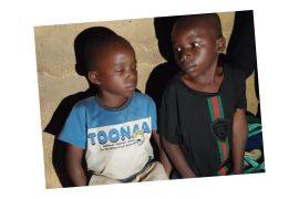 The trafficked children
