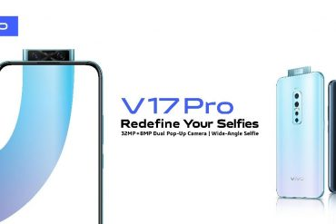 Vivo Sets A Pace In Mobile Photography With The Launch Of V17Pro's Dual Pop Up Front Camera And AI Quad Rear Camera
