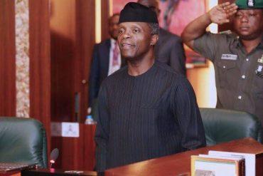 VP Yemi Osinbajo