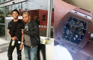 Wizkid Gifts His Manager Wristwatch Worth Of  N40 Million