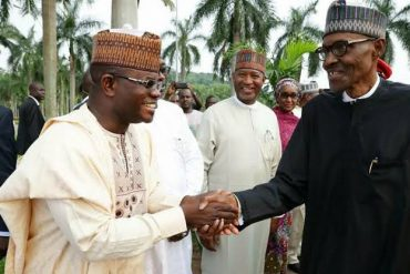 Buhari Congratulates Yahaya Bello On His Election Victory