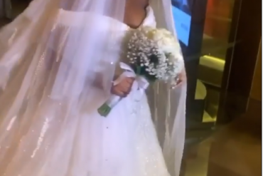 Video: First Look At Bam Bam's Wedding Dress