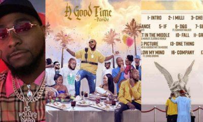 Davido's album cover