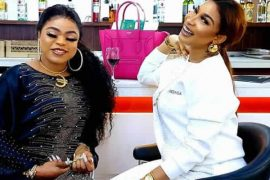 Bobrisky and Tonto Dikeh