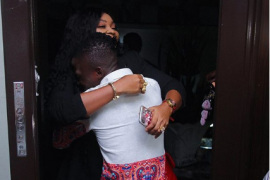 Mercy Aigbe and Alesh