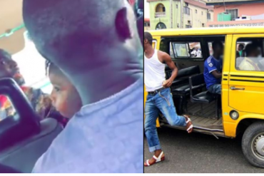 Passenger Insists On Paying Lagos Bus Driver Via Money Transfer