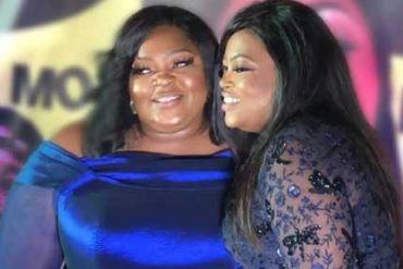 Nollywood Actresses, Eniola Badmus, Funke Akindele Settle Beef (Photo)