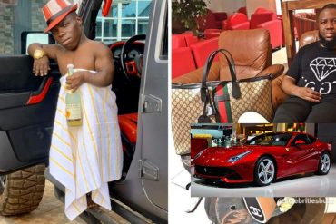 Hushpuppi Buys Children's Toys For Shatta Bandle (Video)