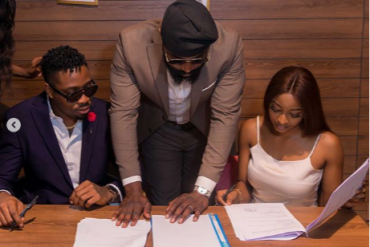 BBNaija Ike, Kim Oprah Sign Under New Management