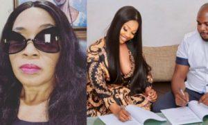 Collage photo of Kemi Olunloyo and Tacha
