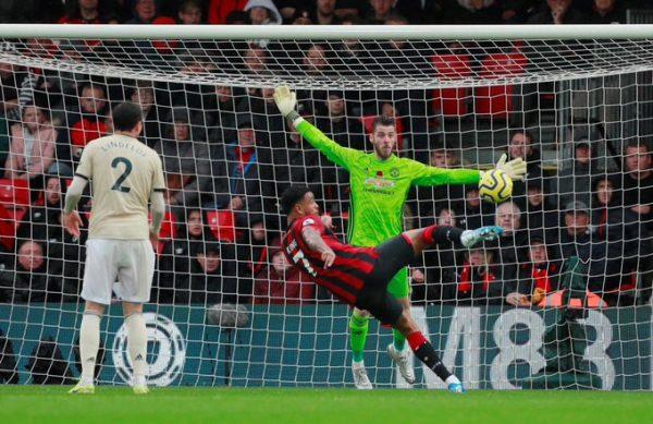 Joshua King's goal against Manchester United
