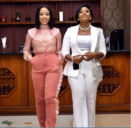 Former BBNaija housemates, Cee-C and Nina