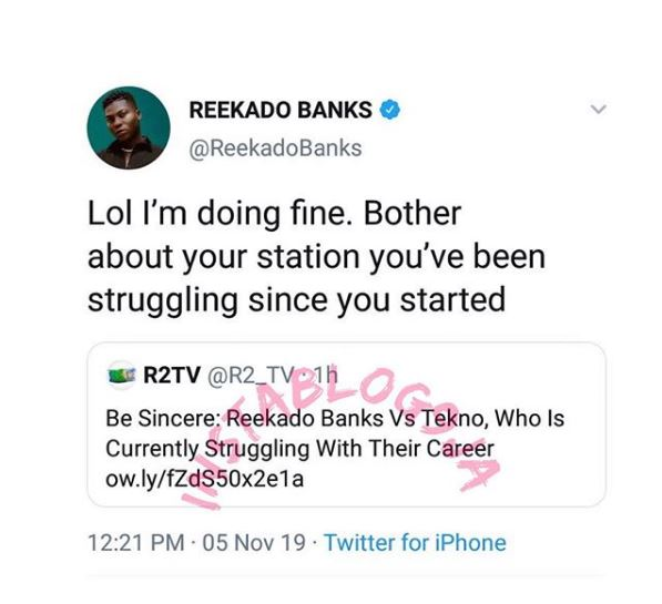 Reekado Banks