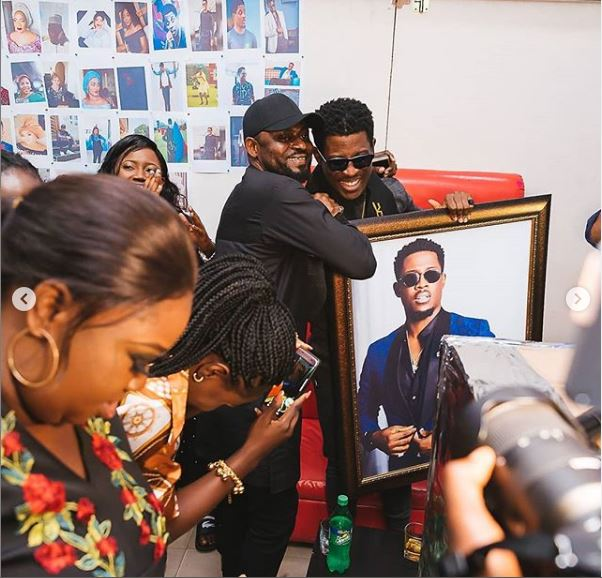 seyi - BBNaija's Seyi Awolowo Receives Gifts From Fans To Celebrate Birthday (Photo)