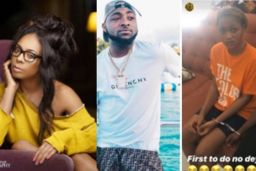 Tboss, Davido and the ladies in cuff