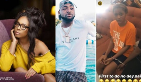 Tboss, Davido and the ladies