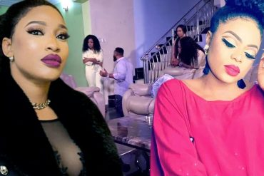 Tonto Dikeh Threatens To Show Bobrisky's Real Face (Video)