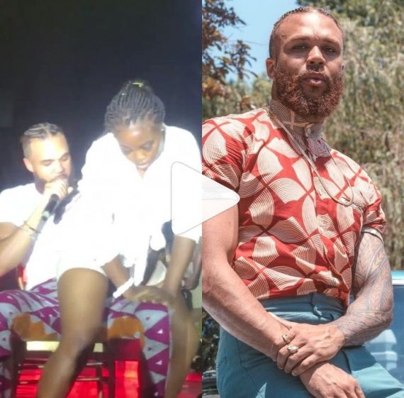 Jidenna and the lady
