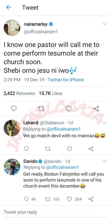 10763809 picsart122107 59 49 jpeg1a0d359bbc41a4244cef83488cf7649e - Biodun Fatoyinbo Will Invite You To Perform At His Church: Davido Tells Naira Marley