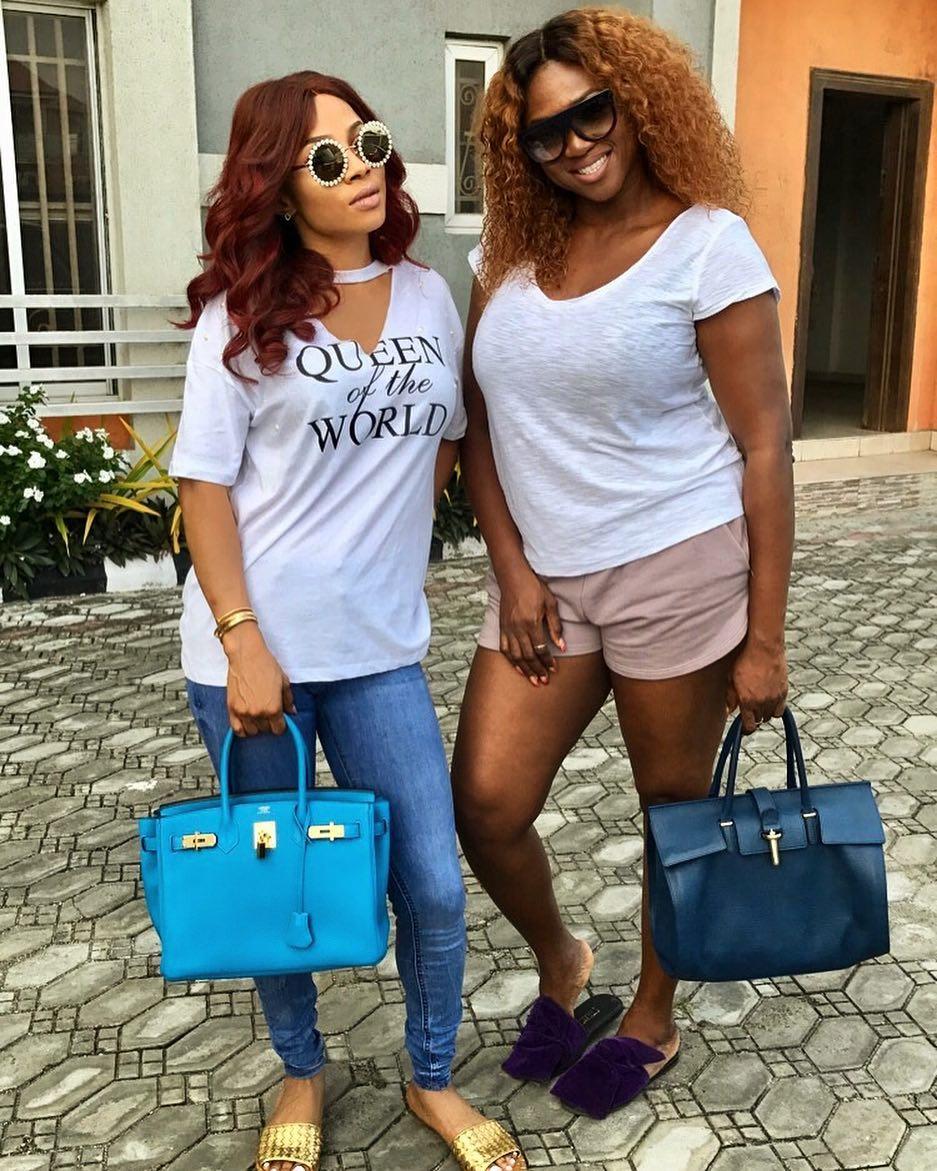 Toke Makinwa and Waje