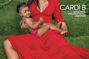 Cardi B, Daughter Cover Vogue Magazine (Photos)