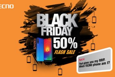 TECNO Delivered on the Black Friday offer as promised (50% discounts)