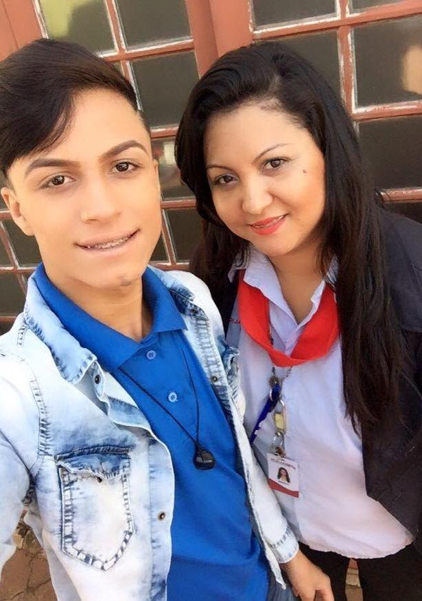 Tatiana Ferreira Lozano Pereira abd the gay son