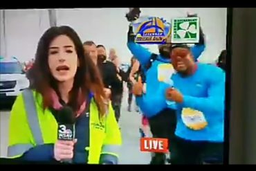 TV Reporter Calls Out Man Who Smacked Her Buttocks On Live TV (Video)