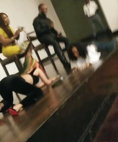 Video: Ghanaian Celebrity, Akuapem Poloo Wig Falls Off As She Twerks With Cardi B