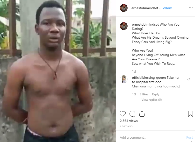 5def001e3b787 - Veteran Actor Ernest Obi Reacts To Report Of Yahoo Boy Who Set His Girlfriend Ablaze