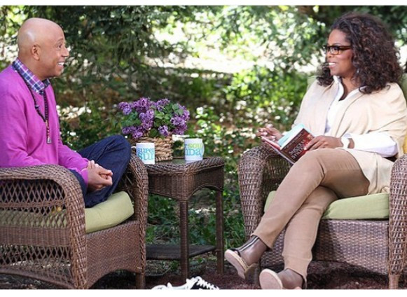 Russell Simmons And Oprah