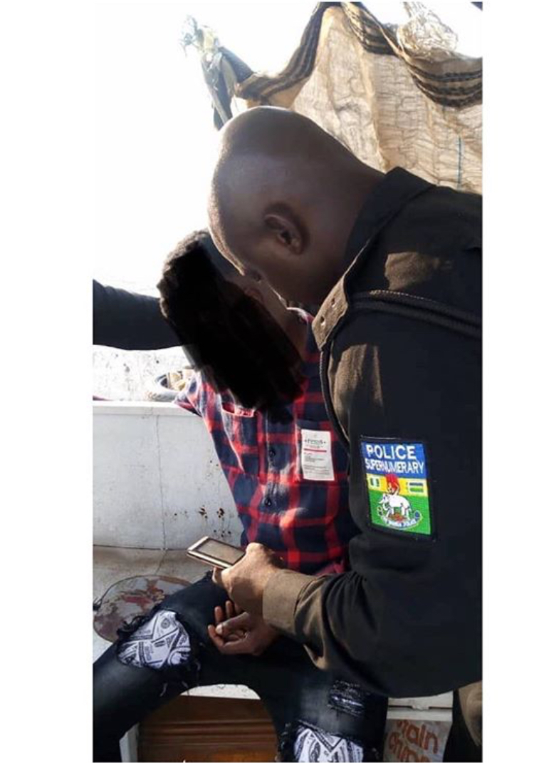 Police Rescue Man From Jumping Off 3rd Mainland Bridge (Photo)