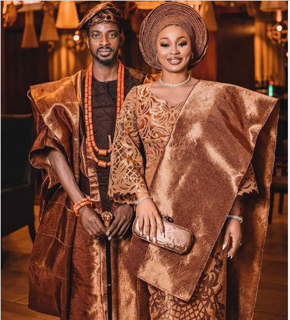 8ice and wife, Sunkami Ajala