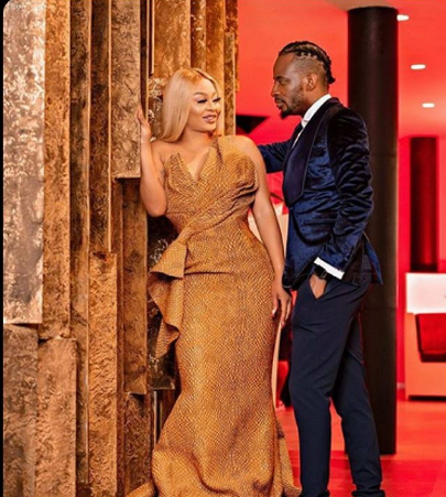 pre-wedding photo of 9ice and Sunkami Ajala