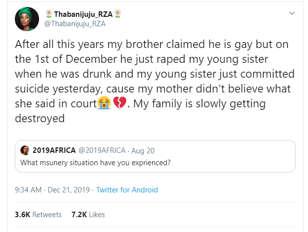 Capture 408 - Twitter Stories: Gay Brother Rapes Younger Sister