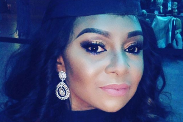 Victoria Inyama Celebrates As She Graduates From University