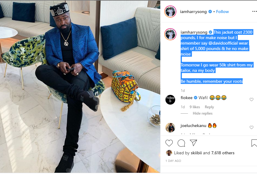 Capture 474 - My Jacket Costs £2300 Pounds, But I Will Not Make Noise About It – Harrysong