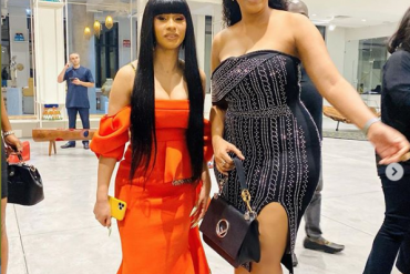 She Said We Look Alike – Juliet Ibrahim Says As She Poses With Cardi B