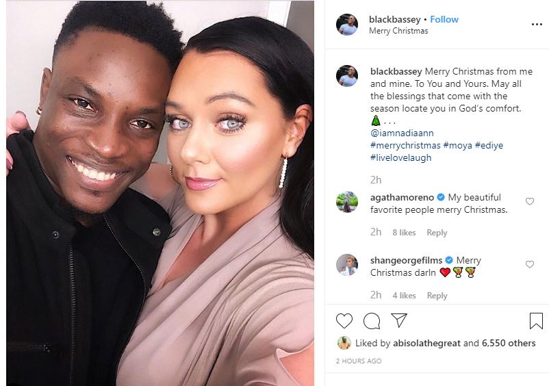 Capture 544 - 2017 BBNaija Housemate, Bassey Finally Unveils His Wife