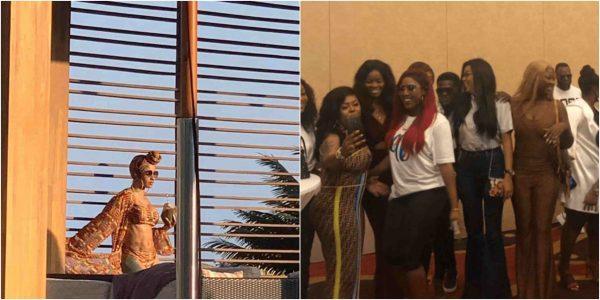 Ghanaian celebrities and Cardi B