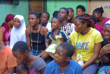 Teenage Girls Struggle To Afford Sanitary Pads In Lagos Community; Use Cotton Wool As Alternative (Video)