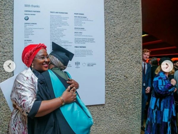 Hanan and Aisha Buhari