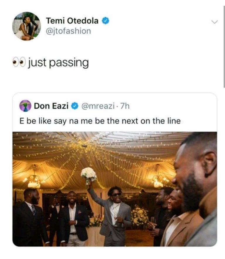 Temi Otedola's post
