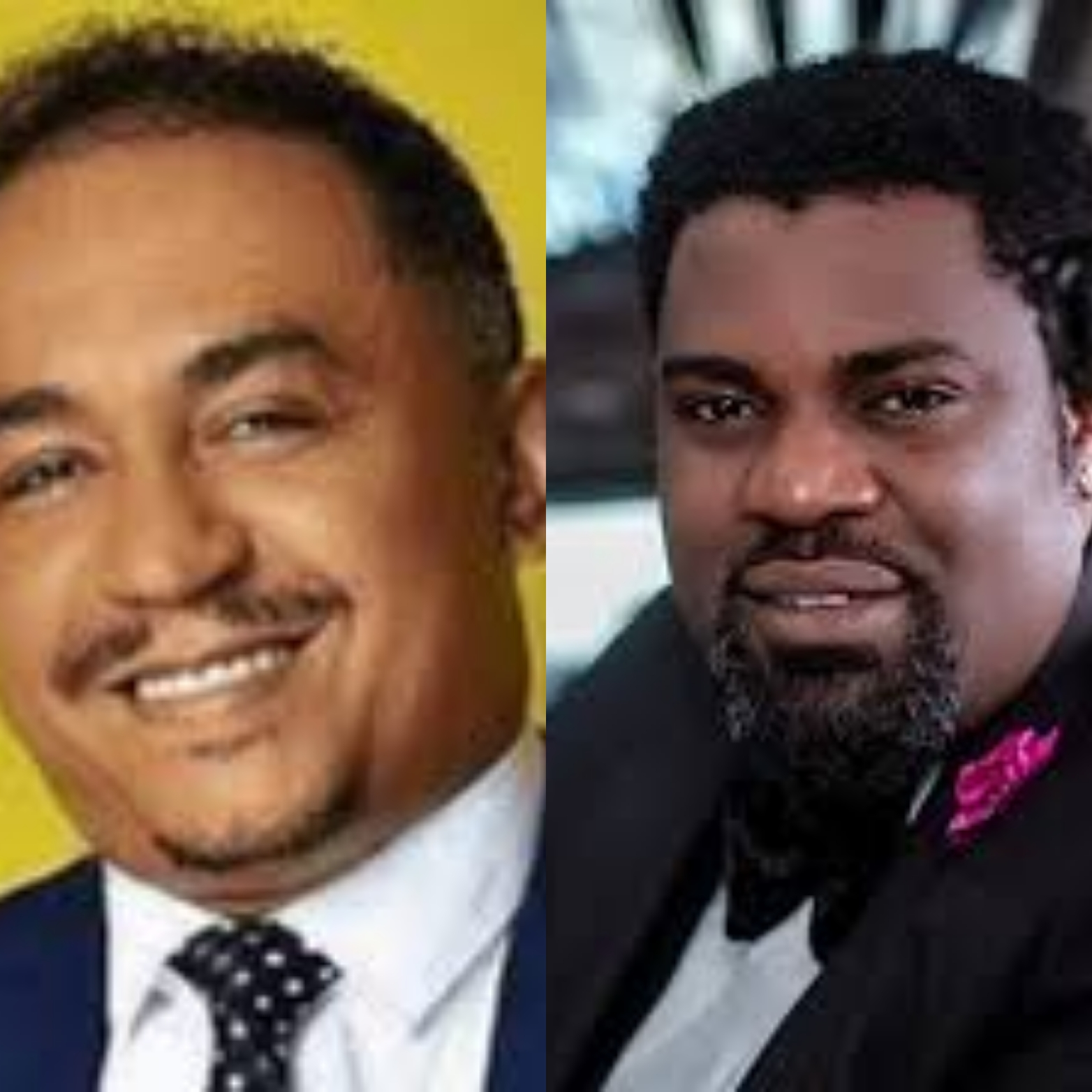 Daddy Freeze and Yomi Black
