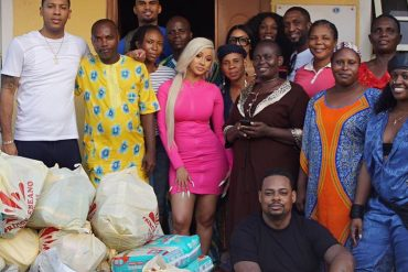 Cardi B Shares Pictures From Her Visit To Nigerian Orphanage Home (Photo)