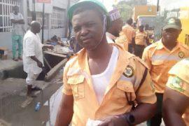 Lagos sanitation officers